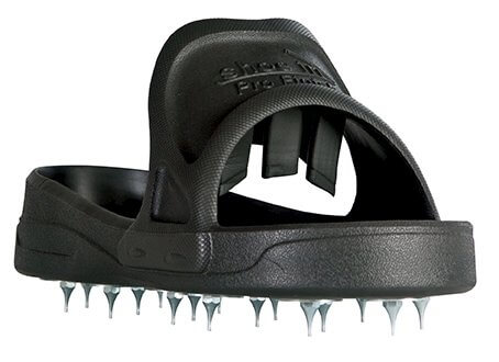 Shoe In Spiked Shoes